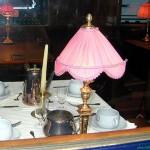 Table de la voiture restaurant du VSOE (Musée de Mulhouse)